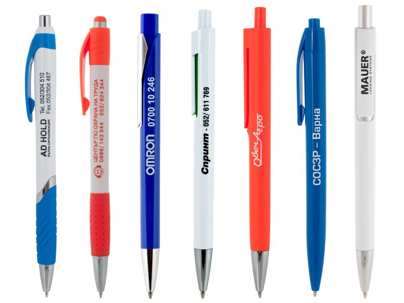 Пластмасови рекламни химикалки