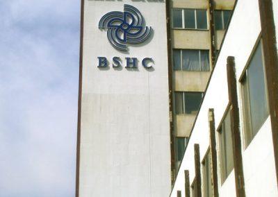 Обемни букви и знак на BSCH, Варна