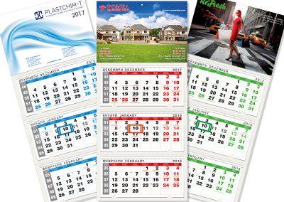Календар 1130 Тройка класик