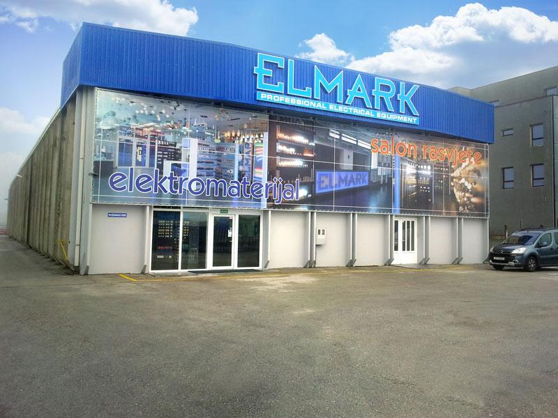 Фасадна реклама - магазин Елмарк, в гр. Сплит