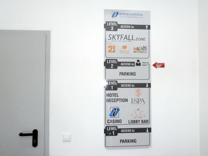 указателно табло за етажи