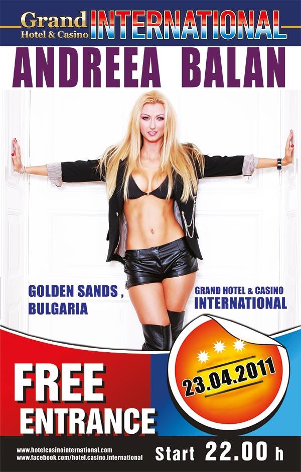плакат за гостуваща звезда в hotel International
