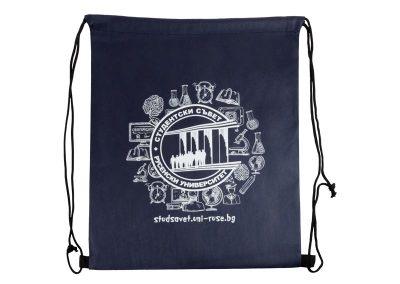 ситопечат върху текстилна торбичка