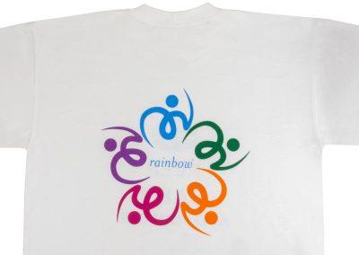 ситопечат 5 цвята - RAINBOW
