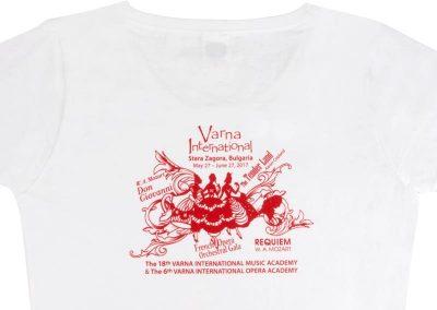 директен ситопечат с 1 цвят Varna International