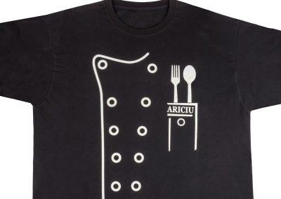 ситопечат на тениска за мастер шеф в ARICIU