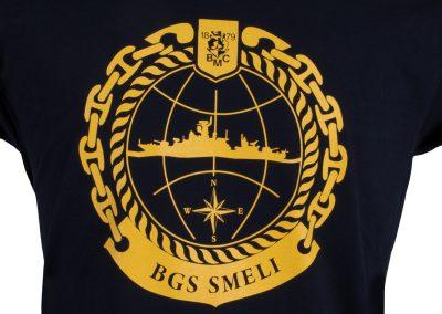 ситопечат на гръб на тениска, Ф35 см, SMELI