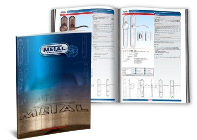 Дизайн и печат на продуктови каталози на METAL, термолепене
