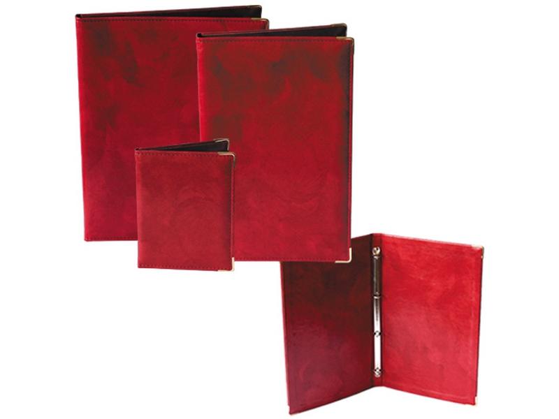 меню престиж червена папка