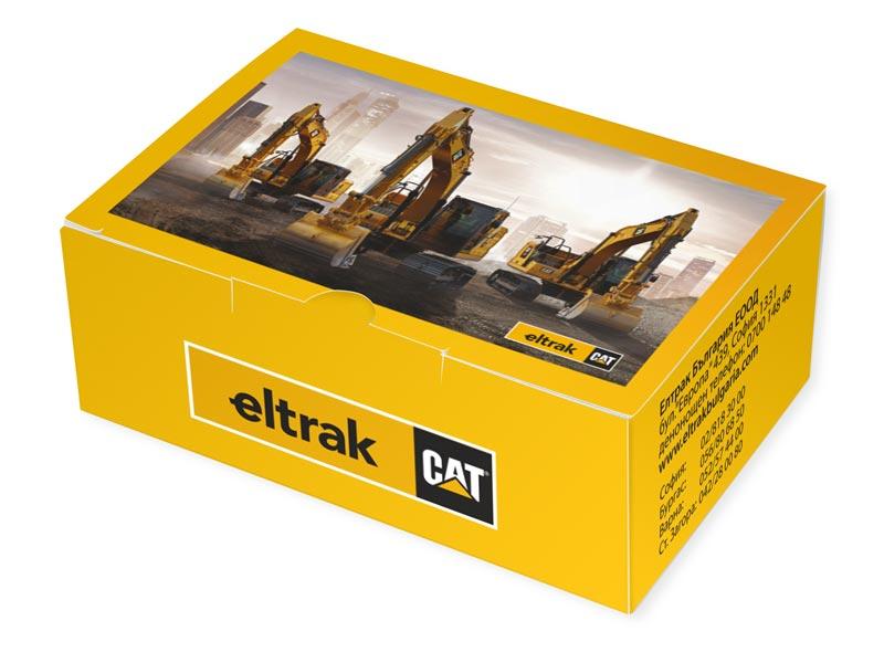 брандирана картонена кутия за пъзели със снимка