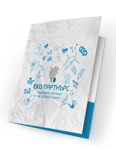 рекламна папка Eco Partners