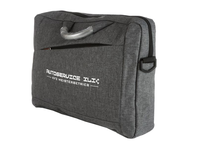рекламна чанта с надпис Autoservice ilic
